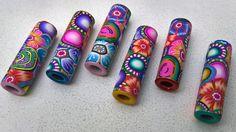 Kristin Halvorsen polymer clay beads
