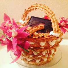 Kransekake Lamb, Bakery, Lavender, Birthday Cake, Desserts, Food, Tailgate Desserts, Deserts, Birthday Cakes
