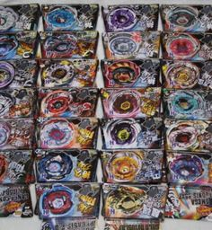 Wholesale 16 Piece Lot BEYBLADE METAL FUSION MIX ALL MODELS With Launcher