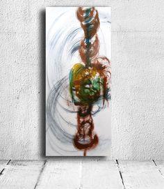 Trends in the Art World  modern painting wall original decor ink.  https://www.vangoart.co/mina-gavala/summer-wind