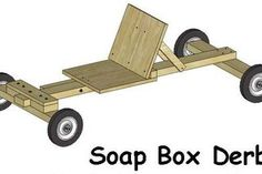 Picture of Easy Soap Box Derby Car Build Soap Box Derby Cars, Soap Box Cars, Diy Soap Box, Soap Boxes, Wooden Go Kart, Wooden Scooter, Cub Scout Crafts, Go Kart Plans, Diy Go Kart