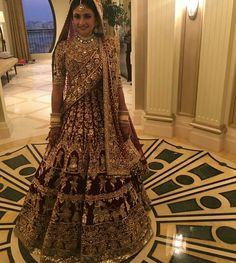 Priya Our Bride In Manish Malhotra's Designed Lehenga Indian Bridal Outfits, Indian Bridal Lehenga, Indian Bridal Wear, Indian Dresses, Bridal Dresses, Indian Wear, Bridal Sarees, Indian Attire, Bridal Gown