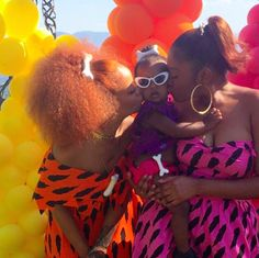 Rihanna Celebrates Cousin and God Daughter Majesty's First Birthday as Pebbles with a Black Flintstone's and Bedrock Theme Birthday Party with Majesty's Mom Noella