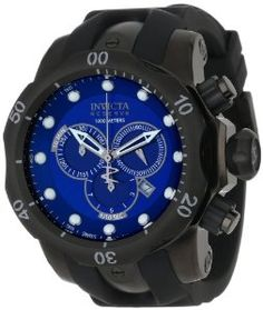 5458a0b0318 Invicta Men s Reserve Collection Venom Chronograph Gunmetal Ion-Plated  Watch Dive to the deepest depths with the dramatic Invicta Men s Exclusive  Reserve