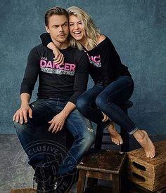 Julianne and Derek Hough                                                       …