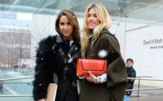 NYFW Street Style From Fall 2015 Season Proves There Are Definitely Ways To Bundle Up Without Looking Like A Snow Monster