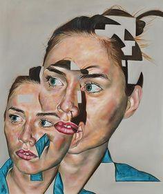 Carl Beazley, Paintings. Fantastic, mind warping paintings by artist Carl Beazley. You can see more of his work below! [[MORE]] Carl Beazley: Website Via Booooooom!