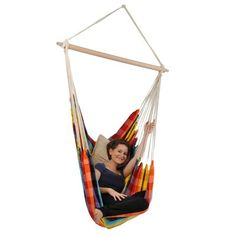 Single point hammock swing