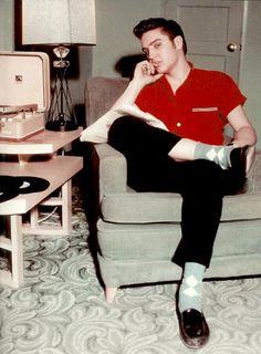 vintagegal: Elvis Presley, 1956
