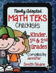 Freebie math teks checklists for 6th 7th and 8th grade math freebie math teks checklists for kindergarten 1st and 2nd grade fandeluxe Choice Image