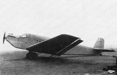 First prototype of iconic Junkers Ju 52 (1930) - it was a single-engine aircraft!