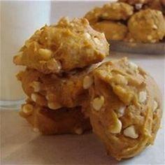White Chocolate Pumpkin Cookies - Bing