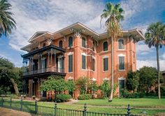 Built in 1859, Ashton Villa in Galveston, Texas, is one of the country's greatest Italian mansions.