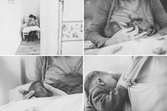a girl breastfeeding her newborn son and holding his head by Maria Assia Photography. http://mariaassia.com/family-photographer-in-sevenoaks-newborn-shoot/