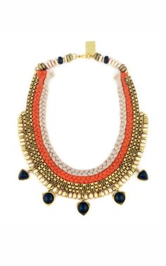 Lizzie Fortunato Sacred Valley Necklace. Love the tribal style.