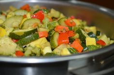 Vegetable Medley with Zucchini, Summer Squash and Carrots