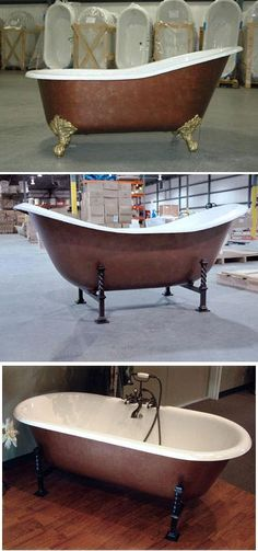Clawfoot Tub In Quot Copper Bronze Quot Faux Finish Visit Http
