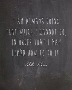 Picasso quote
