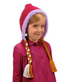Look what I found on #zulily! Anna Hoodie Hat #zulilyfinds