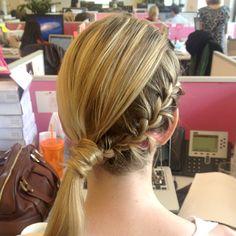 5 Steps to Jessica Alba's Braided Side Ponytail | Birchbox