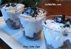 Call Me PMc: Oreo Cake Cups #easy #dessert #oreos