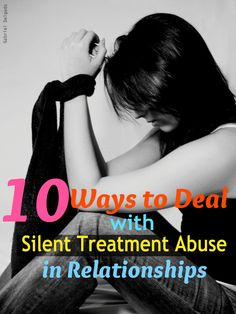 Do you get the cold shoulders from your partner every time something goes wrong? Find out how you can deal with silent treatment abuse in relationships.