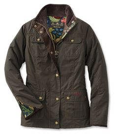 Just found this Womens Barbour Jacket - Barbour%26%23174%3b Ladies Morris-Print Utility Jacket -- Orvis on Orvis.com!
