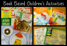 Gummy Lump Toys Blog: Book Based Children's Activities for Read a Book Day #kids #activities #books