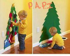 Felt Christmas tree!