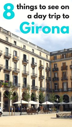Taking a day trip from Barcelona? Have a look at what to see in Girona, an quiet Catalan alternative. Includes how to get from Barcelona to Girona by train.
