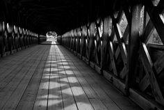 Inside the Wakefield bridge.