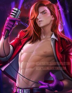 Jessica Rabbit genderbend by Sakimichan