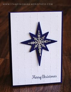 Star of Light, Starlight Thinlits, Fancy Frost Specialty DSP, Silver Glimmer Paper - ESAD 2016 Holiday Catalogue Blog Hop 09/14/2016