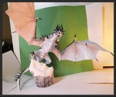 The Elder Scrolls V: Skyrim - Frost Dragon Ver.2 Free Paper Craft Download | PaperCraftSquare.com