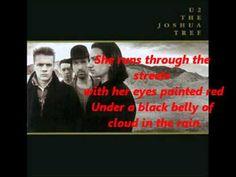 U2 - Running To Stand Still.  Gorgeous.