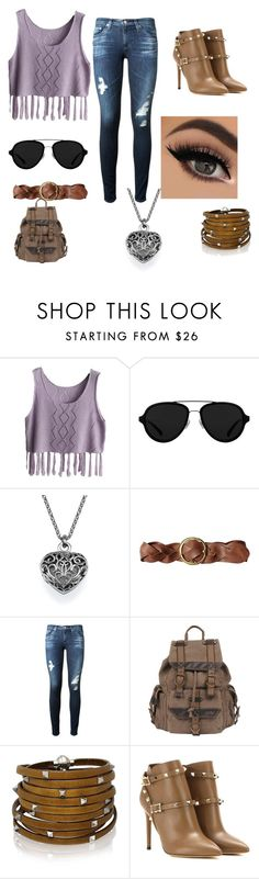 """""""Unknown day"""" by fashionqueen223 ❤ liked on Polyvore featuring 3.1 Phillip Lim, Polo Ralph Lauren, AG Adriano Goldschmied, Wilsons Leather, Sif Jakobs Jewellery and Valentino"""