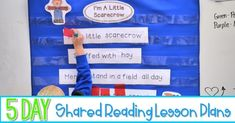 Kindergarten Poetry and Shared Reading Poems! Reading Response Activities, Poetry Activities, Reading Centers, Activities For Kids, Shared Reading, Guided Reading, Kindergarten Poetry, Teaching Shapes, Word Work