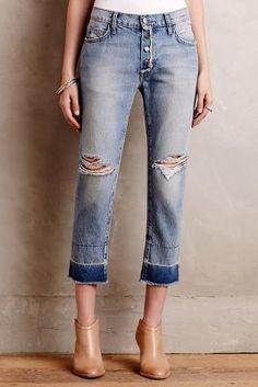 Current/Elliott Fling Destroy Jeans #anthrofave
