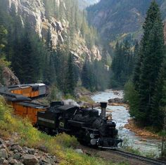 Been there _Train ride in Durango , Colorado. Been there _Train ride in Durango , Colorado. Been there _Train ride in Durango , Colorado. Durango Colorado, Aspen Colorado, Silverton Colorado, Silverton Train, Colorado Springs, Colorado Denver, Cool Places To Visit, Places To Travel, Locomotive Diesel