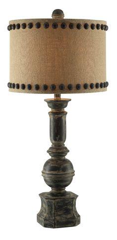 IRON BALUSTER TABLE LAMP