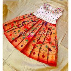 Indian Dresses For Kids, Kids Indian Wear, Kids Ethnic Wear, Dresses Kids Girl, Girls Frock Design, Baby Dress Design, Kids Frocks Design, Baby Frocks Designs, Kids Dress Wear