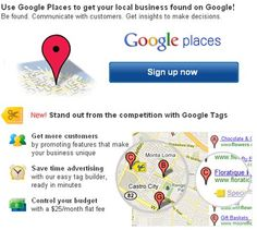 Google places should be a top priority, Must For Local Business. This has huge implications for small businesses, which often depend on Google—in terms of organic and paid search—to generate phone calls, foot traffic, and overall brand visibility.