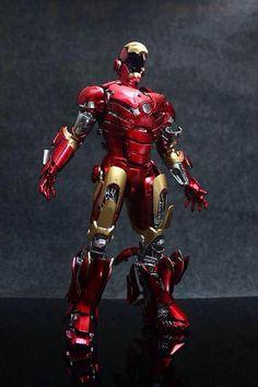 "Hot Toys Ironman Mark II ""Unleashed"" Custom colors and Modifications Anazasi Custom"