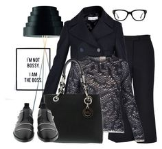 Office Look by brunarosso-eshop on Polyvore featuring moda, MSGM, Converse and Golden Goose