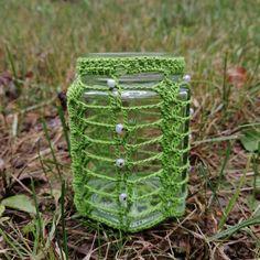 """""""A closer look at the deep green one."""" Closer, Deep, Souvenir, Recycled Glass, Glass Beads, Handmade, Schmuck"""