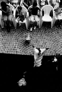 Puppeteer. Toffia, Central Italy 1999