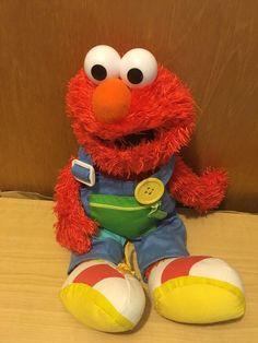 Gund Sesame Street Teach Me Elmo Stuffed Animal Doll  #GUND