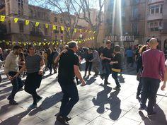 #swing en la plaza de la #Virreina. #Barcelona.
