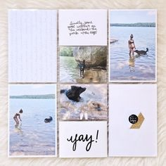Lake Day with Claire Bear by laurarahel at Studio Calico
