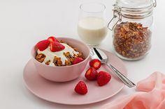Bursting with antioxidants, this deliciously crunchy, healthy Cacao & Coconut Granola recipe is sure to put a smile on your dial and keep you satisfied all morning! :)    Ingredients (6 serves): 4 tbsp honey 3 tbsp coconut oil 1 tsp vanilla extract 1 tsp ground cinnamon 2 tbsp cacao powder 360g rolled oats 60g coconut flakes 50g cacao nibs 70g flaked almonds 60g pumpkin seeds 60g sunflower seeds      Method: 1. Preheat the oven to 150°C (300°F) and line two baking trays with baking paper...